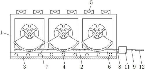 水平椭圆振动筛装配演示图